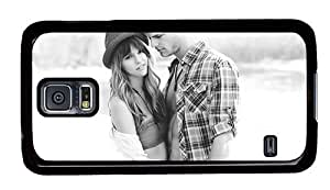 Hipster Samsung Galaxy S5 Case fashion young couple love PC Black for Samsung S5