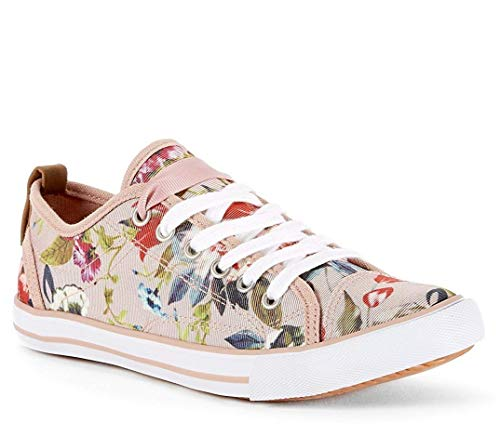 865ab22bfb602 Yellow Shoes Prato Women's Comfy Casual Day Fashion Canvas Sneaker (11 M US  Women, Multi)