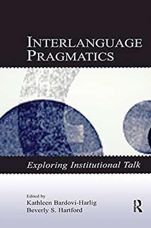 pragmatic acquisition Description this volume offers the first book-length treatment of second and foreign language learners' acquisition of pragmatics it provides an up-to-date account of research findings and.