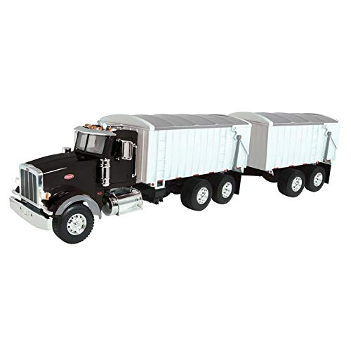 ERTL 1/16 Big Farm Peterbilt Grain Truck and Pup Trailer 2 Piece Set 46733