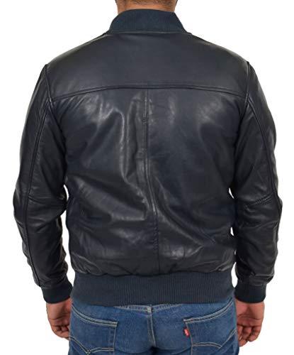 Base Blouson Goods Manteau Des ball Cuir Superbe Fashion A1 Glissière Fermeture À Souple Hommes Marine Gary Varsity BqfA7Hx8