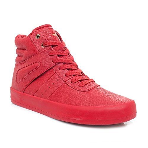 Creative Recreation Men's Moretti Fashion Sneaker, Red, 12 M US