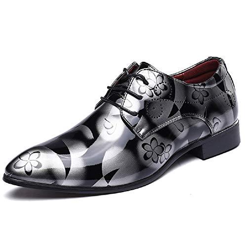 悪意大邸宅ファランクスメンズファッションレザーシューズ大きいサイズの男性の靴明るいレザーファッションビジネスシューズヨーロッパとアメリカのファッションの潮の靴