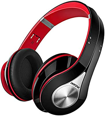 Mpow Wireless Headphones Over Ear Hi Fi Stereo Bluetooth Headphones With Soft Memory Protein Earmuffs Foldable Bluetooth Headset With Built In Cvc6 0 Mic For Home Office Online Class Cellphone Pc Tv Amazon Co Uk Computers Accessories