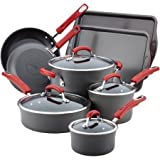 Rachael Ray 87648 Nonstick Cookware Set, Large, Gray Review
