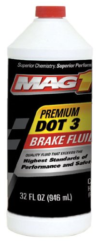 MAG1 120 Premium DOT 3 Brake Fluid - 32 oz. by Mag 1