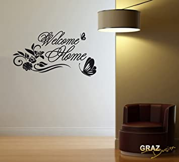vinilos decorativo sticker de pared wall sticker pegatinas para pared bienvenida pasillo tamaoudxcm