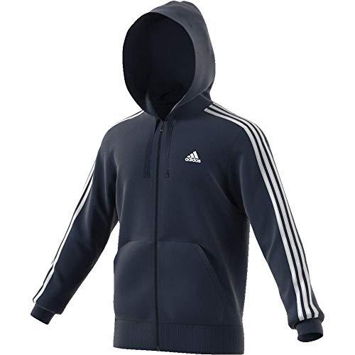 Navy Blu bianco 3s Ess Uomo Adidas B Maglietta Fz Rfw0gq