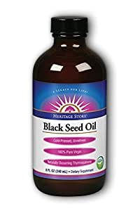 Heritage Products Black Seed Oil, 8 Ounce
