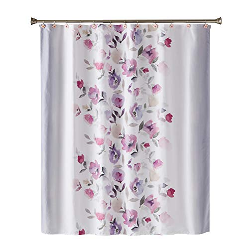 SKL Home by Saturday Knight Ltd. Garden Mist Fabric Shower Curtain, Purple from SKL Home by Saturday Knight Ltd.