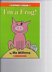 Paperback I'm A Frog Book