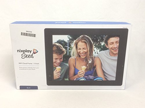 Nixplay Seed 8 Inch Wifi Digital Photo Frame With Mobile App 10gb