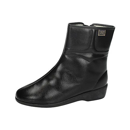 35 Negro Spain IN Mujer Borreguillo Botines Botines 64001 Made a4wq8xzz