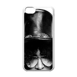 Iphone 5C 2D Personalized Phone Back Case with Slash Image