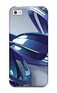 Defender Case For Iphone 5c, 3d Pattern