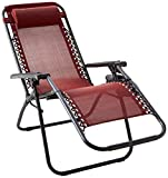 BACKYARD EXPRESSIONS PATIO · HOME · GARDEN 906631 Anti-Gravity Chair, Red