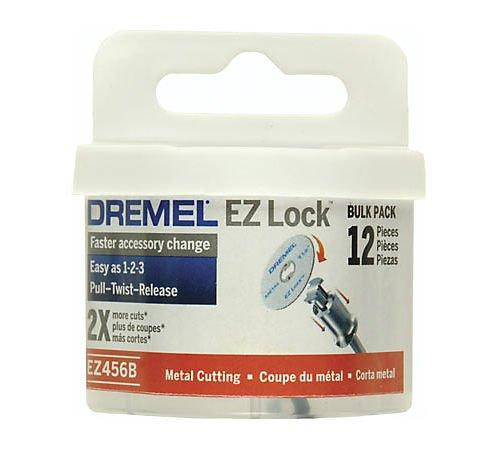 EZ Lock System Cutoff Wheels (12): Metal