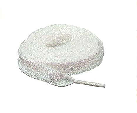 AK.SSI Gli accessori del merletto istantaneo di tendenza del merletto della perla pratici 1 accoppiamento (giallo)