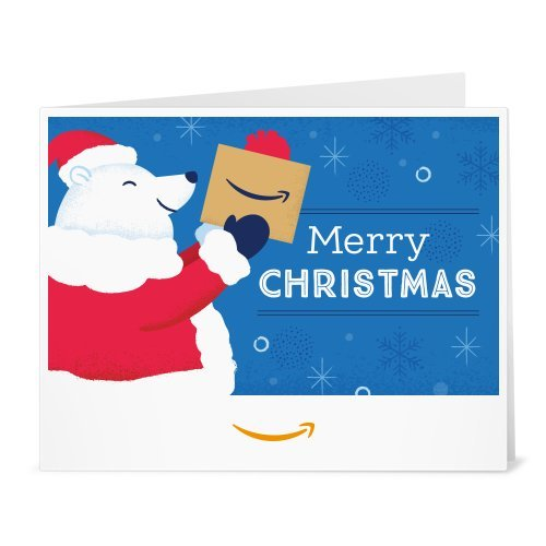 Amazon Gift Card - Print - North Pole Delivery Service (Best Charge Cards With Rewards)