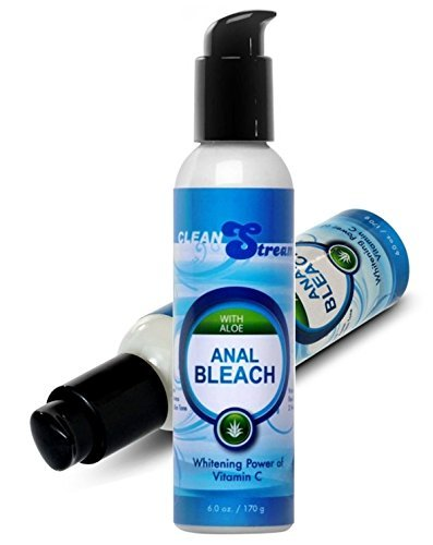 CleanStream Anal Bleach with Aloe and Vitamin C Intimate Skin Lightening Cream for Women : Size 6 Oz. / 170 Ml by Multiple