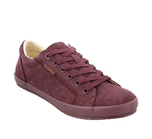 Taos Footwear Women's Star Bordeaux/Bordeaux Sneaker 5 M US