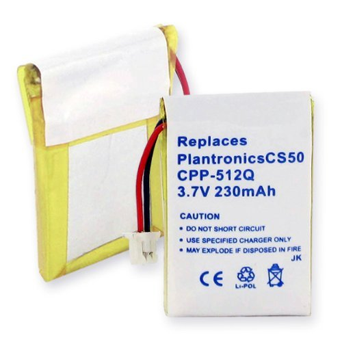 Empire Replacement Battery For PLANTRONICS CS50/CS50-USB/CS55/CS60 6535801 (Usb Plantronics Cs55)