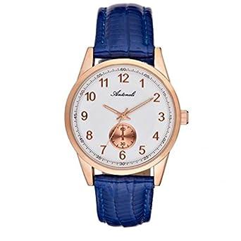 Armbanduhr antoneli Leder weiß 35 mm al1771 – 05