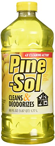 Clorox Company 40239 Pine Sol Lemon Fresh Cleaner, 60-Ounce