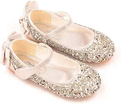 added28c4f45c Shopping Silver - Flats - Shoes - Girls - Clothing, Shoes & Jewelry ...