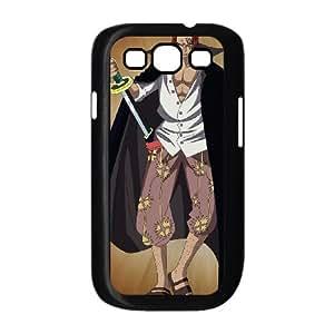 Shanks una pieza G2D17A8NF funda Samsung Galaxy S3 9300 funda caso O467K0 negro