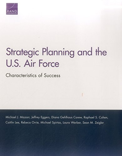 Strategic Planning and the U.S. Air Force: Characteristics of Success