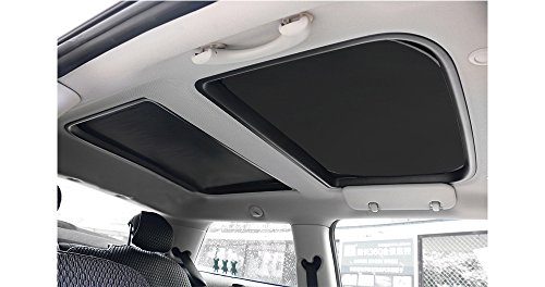 Yu Motor 2pcs Foldable Sunroof Shade Sunshade Heat Isolate MINI Cooper, Clubman & Countryman, All Years