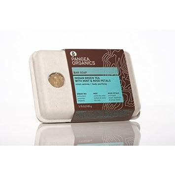 Amazon.com: Pangea Organics Bar 3,75 oz de jabón (105 g): Beauty
