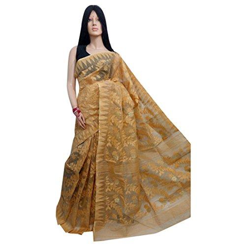 Traditional Handoom Dhakai Jamdani Saree Full weaving work by weavers Bengal Women sari Indian Ethnic Festive saree 105 11