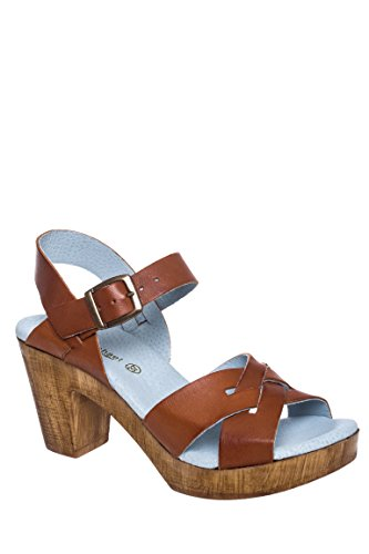 Heel Michael Eric Philly High Sandal Chunky Michael Tan Eric qvTYwTa