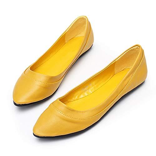 de y Planos EU de Fondo Planos Oficina Zapatos Zapatos Suave Zapatos EU Verano 39 Zapatos Primavera 40 cómodos FLYRCX qU45WwXzX