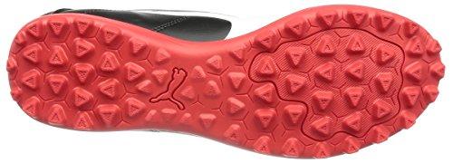 Puma Classico C TT, Chaussures de Football Américain Homme, Noir Black White-High Risk Red, 48.5 EU