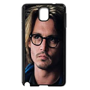 Samsung Galaxy Note 3 Cell Phone Case Black hb14 johnny depp glass film actor face LV7943434