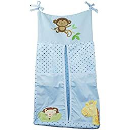 TDKIDO Diaper Stacker Organizer Hanging Storage Bag for Baby Room Decor