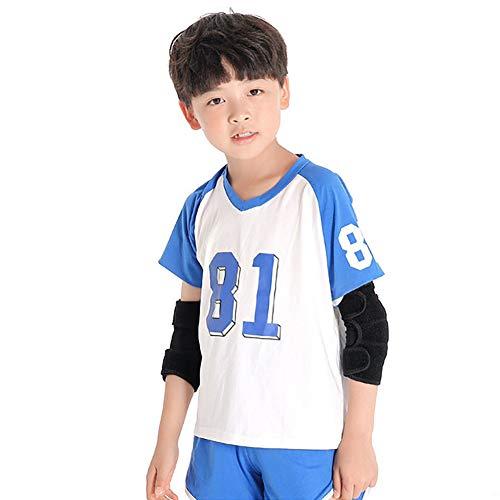 [해외]어린이용 팔꿈치 지지대 팔꿈치 패드 팔꿈치 팔꿈치 지지대 스포츠 통기성 미끄럼 방지 충격 부상 예방 보호 팔꿈치 고정 스포츠 보호 대 아동 학생용 배구 야구 농구 / Children`s Elbow Supporter Elbow Pads Elbow Pads Elbow Support Elbow Supp...