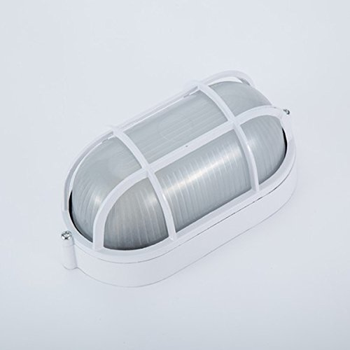 Oval Round Explosion Proof Vapor-proof Sauna Steam Room Light Lampshade Guard - Bono Shades