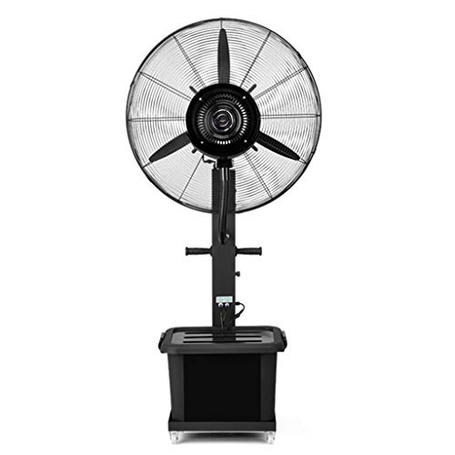 (Floor Fan 3 Rotor Blades Cooling Fan Oscillation Spray Fan Function Remote Control Pedestal Fan Tiltable Head Pedestal Stand Fan 110V)