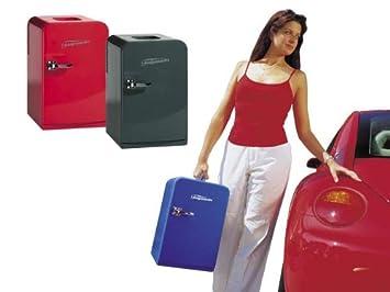 Mini Kühlschrank Blau : Amazon fridgemaster fm mobiler mini kühlschrank inhalt