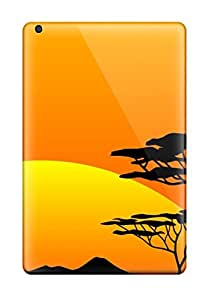 Protective Tpu Case With Fashion Design For Ipad Mini/mini 2 (safari Sunsets)