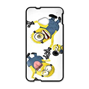 Happy Minions Case Cover For HTC M7