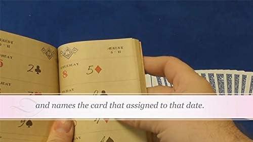 Card Magic Houdinis Diary by Wayne Dobson and Alan Wong Close Up Trick