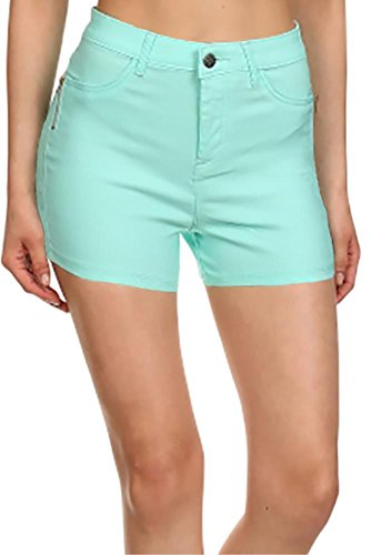 Simlu Short Shorts For Women Trendy Casual Stretchy Shorts With Pockets
