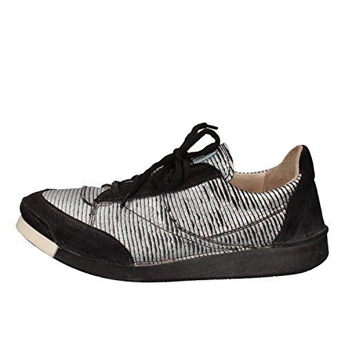 Donna Moma Moma Argento Pelle Sneaker Sneaker 4OtnwT6q6x