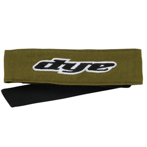 Dye Head Tie - Headband - Olive