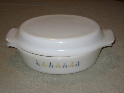 Fire King With Lid Casserole (Vintage Anchor Hocking Fire King